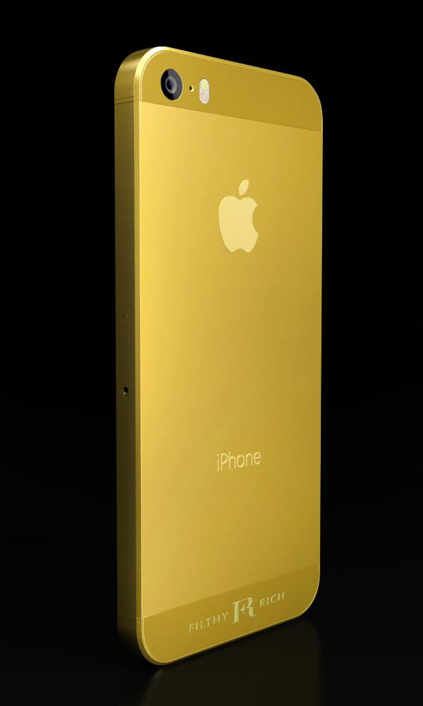 iPhone Gold Plating CGI-1
