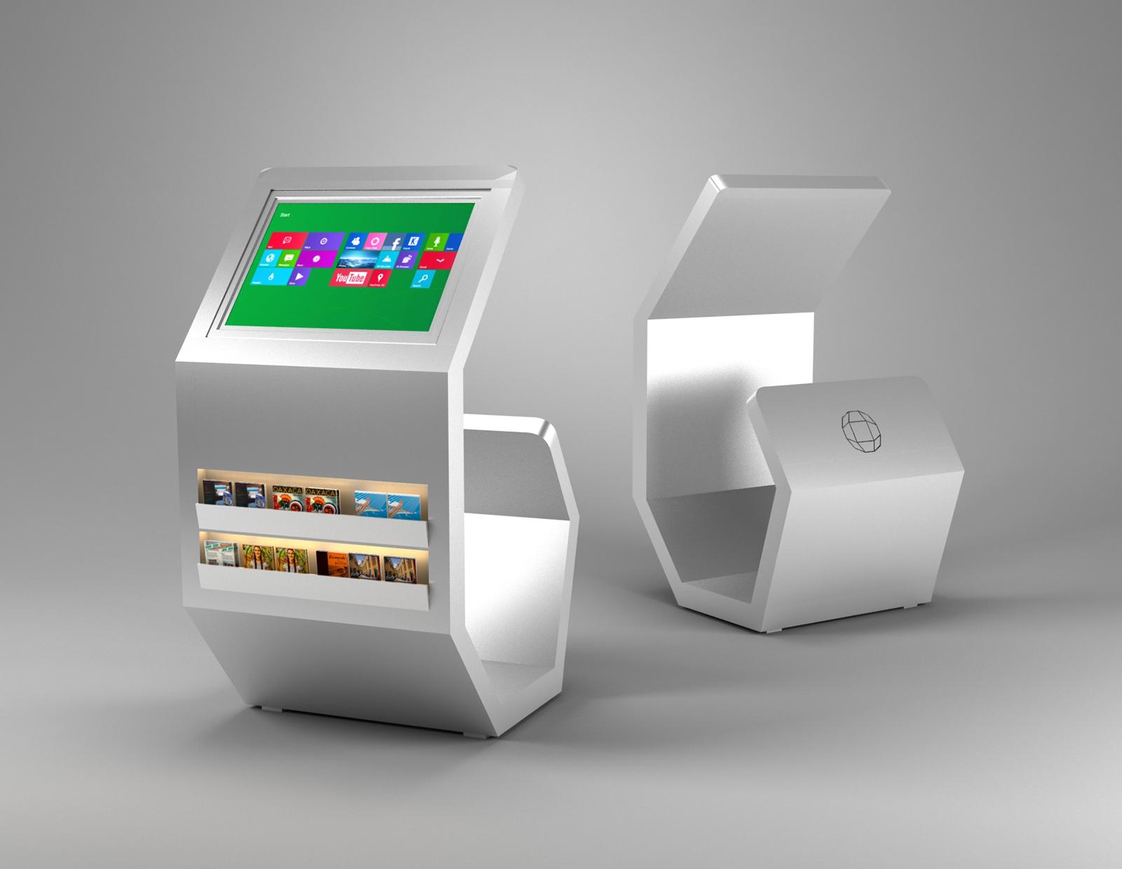 3D Kiosk Design-3