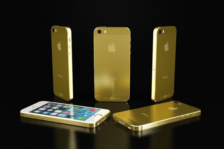 iPhone Gold Plating CGI-0