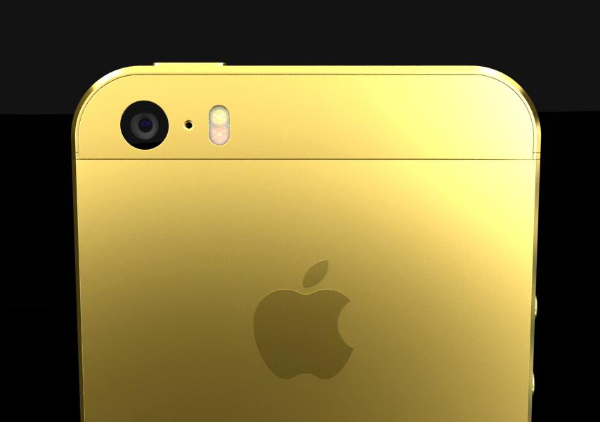 iPhone Gold Plating CGI-2