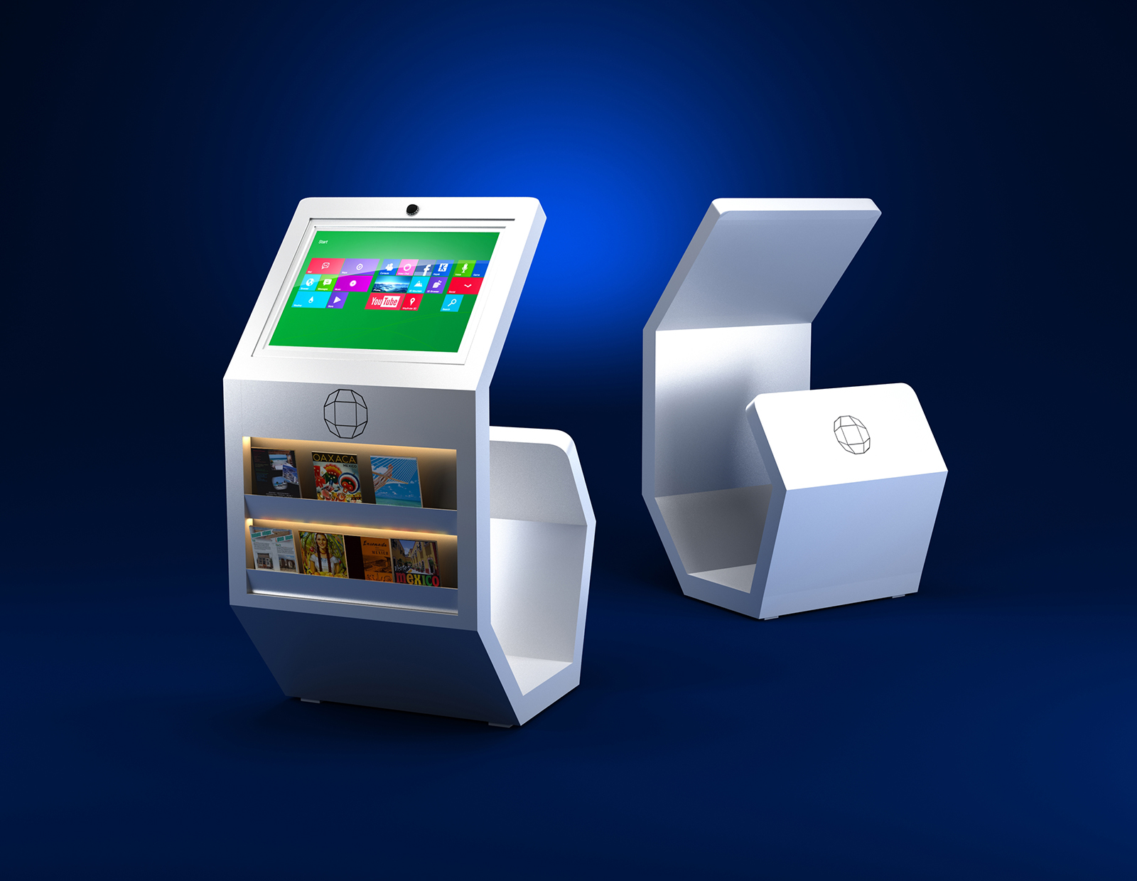 3D Kiosk Design-1