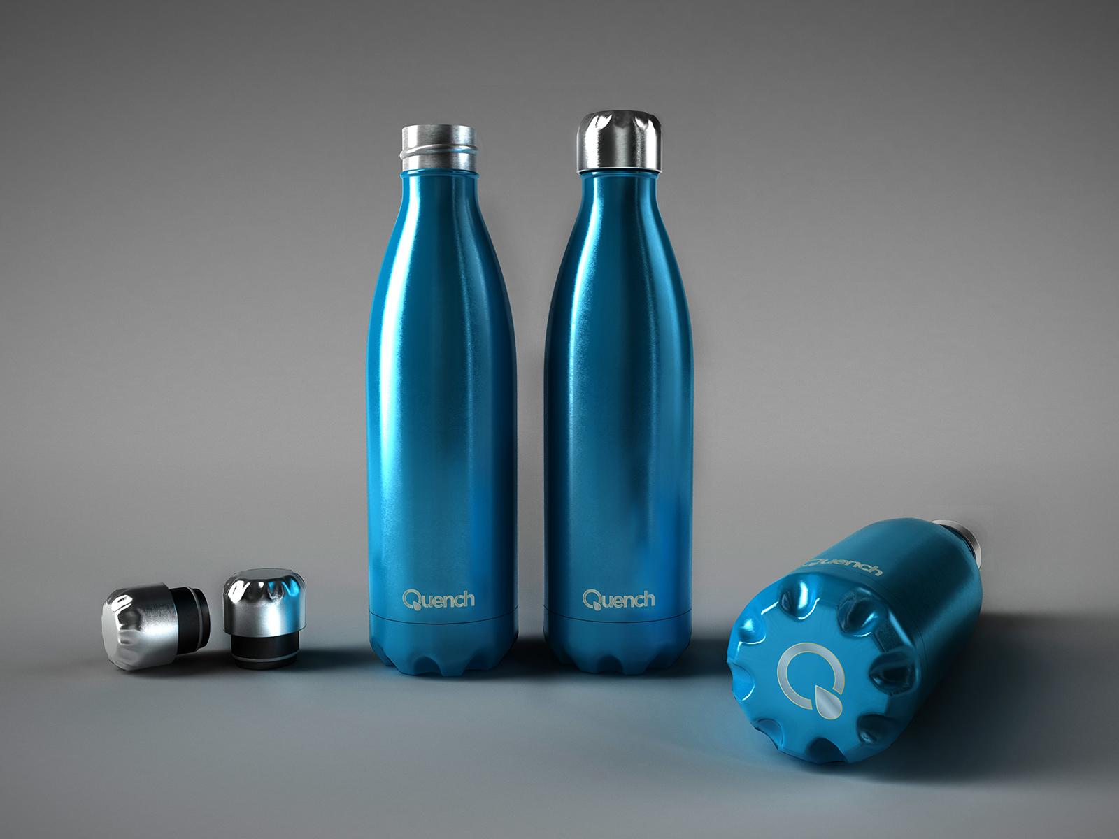 Quench – Metallic Water Bottle-0