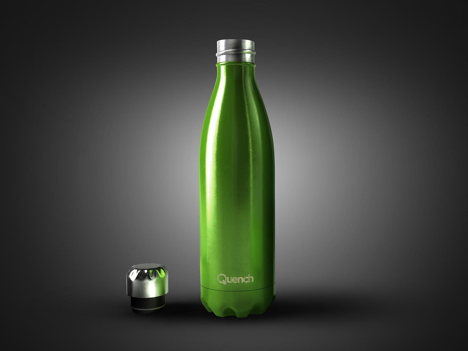 Quench – Metallic Water Bottle-4