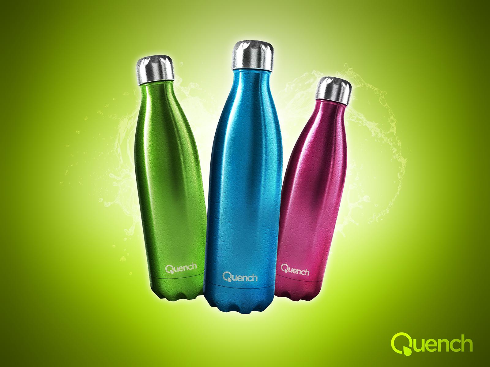 Quench – Metallic Water Bottle-3
