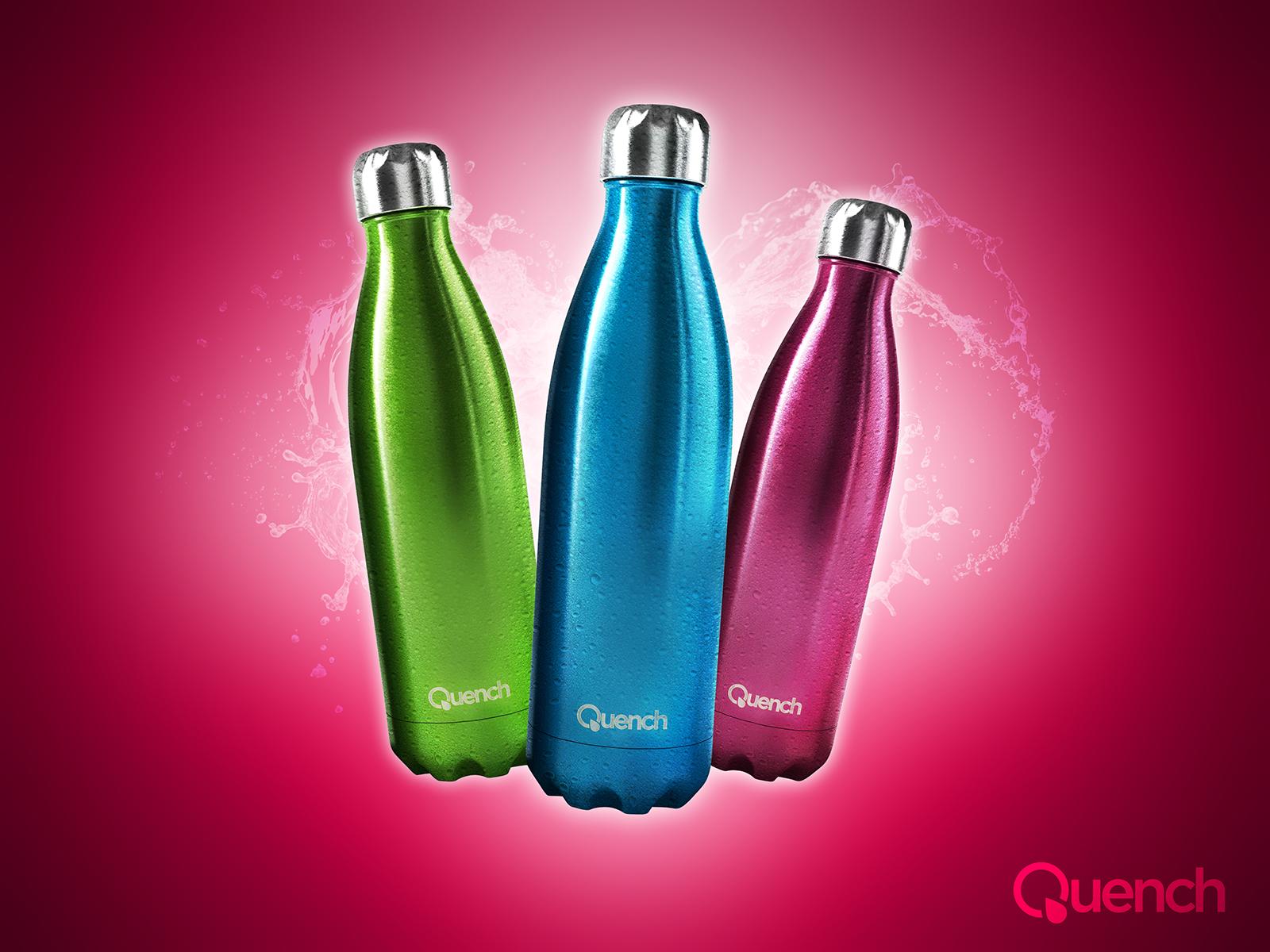 Quench – Metallic Water Bottle-2