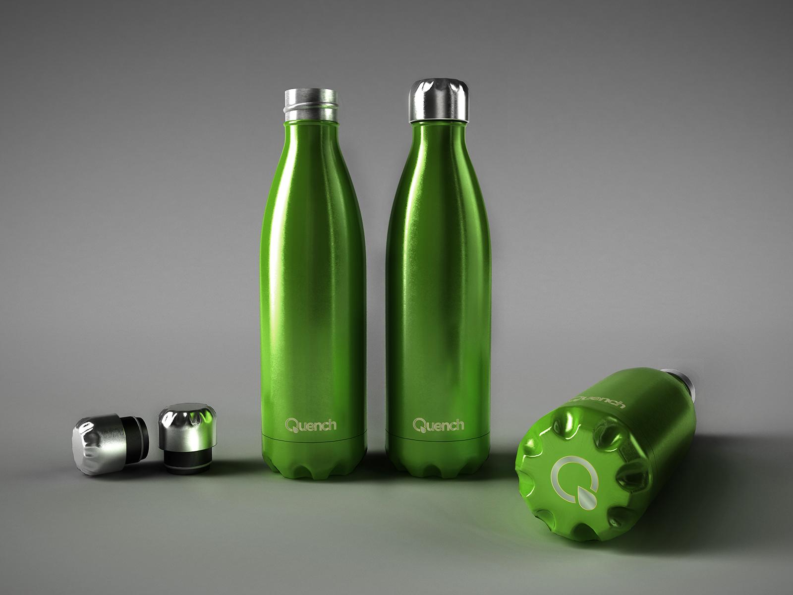Quench – Metallic Water Bottle-7