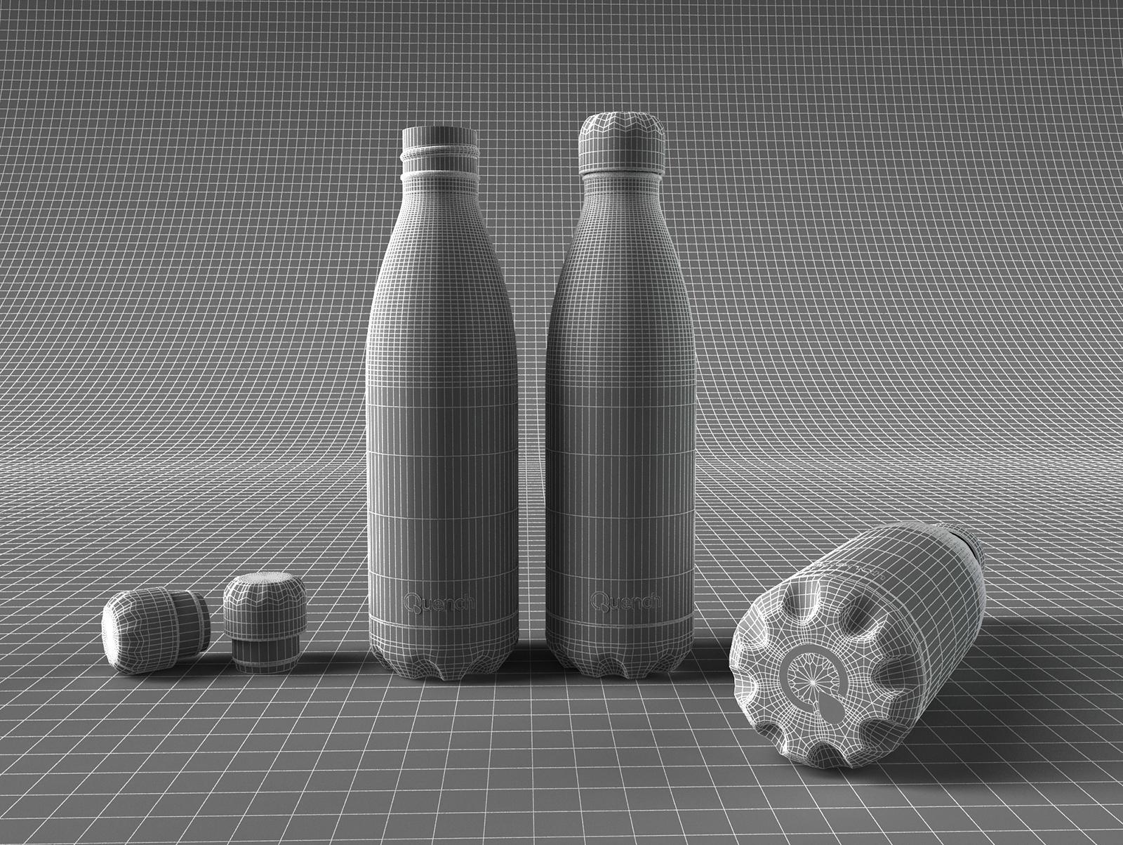 Quench – Metallic Water Bottle-8